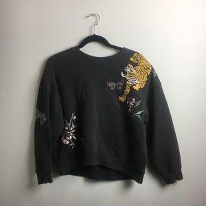 Tiger Patch Sweatshirt